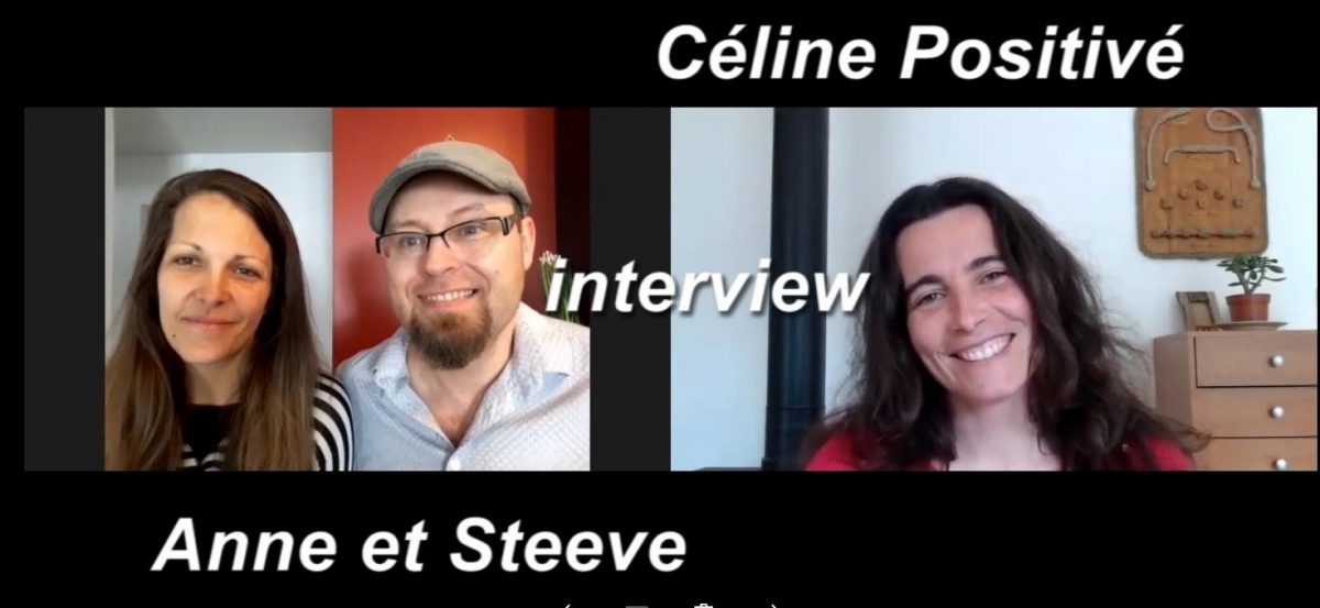 interview steeve gougeon et Anne Guindon